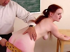 Bitchy chick gets her plump ass smacked