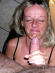 Amateur wife blowjobs