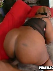 fat black chick fucked by big cock