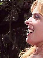 Matured horny blonde enjoying intense pumping exhilarate