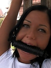 Angelica Heart is one of those European girls that is so fucking pretty she makes you want to die. In this update she gets tied in various bondage positions out on the street and then fucked in a public park while people walk by. There are TWO UPDATES THIS WEEK! Be sure to check out Black Yasmin and her giant tits as well!