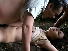 Japanese AV Model with round jugs gets hard OutdoorJp.com