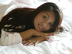 Tailynn exposing her beautiful Asian breasts