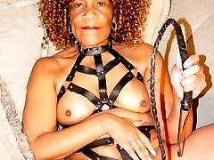 Barbara is a freaky kinky granny ready to break out the whips and chains.