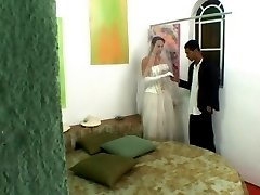 Horny guy falling a victim of his shemale bride�s scam to get his yummy ass