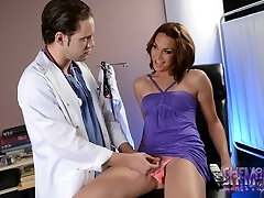 Uber-sexy Jonelle getting fucked by dr Wolfe