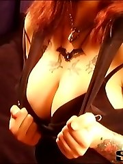 Feisty copper head Ashlee teases us with her bad ass attitude and killer bod. This pixie cutie...