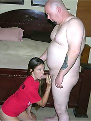 Freckled Face Amateur Teenager Gets Banged Hard By Chubby Dude