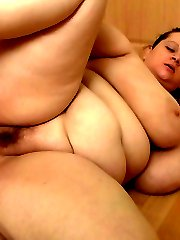 She brings him the new set of scales he ordered and he drills the fat hotties with his cock