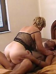 Hard fucking couple make their own porno