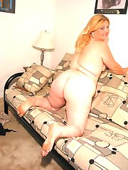 fat mature dark blonde really likes black