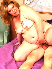 Sexy starved BBW wife CC performs excellent oral before a horny guy satisfies her pussy