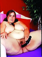 Fat Pigtail Teen Brunette