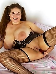 British Chubby With Huge Tits