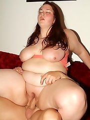 Cute plumper Esther uses her pair of big fat jugs to work a spunk-pump stiff and ready