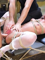 Anal Addict Amara Romani loves to be handled roughly, talked down to, tied up, heavy pussy...