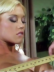Slim beauty Dru Berrymore shows off her sore red ass after a spanking