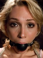 Nineteen year elderly Lily LaBeau gets her first taste of BDSM and loves it!  Her submission is staggering, suffering beautifully under James Deen's stern dominance.  This is an intense scene with genuine reactions from a fantastic girl and great chemistry.   Includes bound fisting, anal toys, caning, fuckfest and bondage, tough sex, deep throat and orgasms!