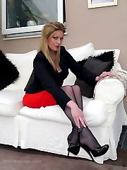 Dr Holly specialises in sexual therapy and fetish, so you need to come to her in full submission...