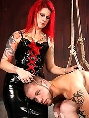 Goddess Soma puts Wolf Hudson in the fetal position, hanging from the ceiling. In an intricate...