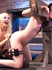 When Charlotte Sartre knocks on Lorelei Lee's house for a Halloween treat, she encounters more than she expects! Bondage, the violet wand, the zapper, finger banging, wired butt plug, face sitting, lesbian foot fucking and muiltiple orgasms!