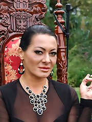 Eastern European Expeditions Continue! Maitresse Madeline has recently arrived in Prague and calls her good friend, Sandra Romain looking for worthy slaves. Sandra puts her garden boy through trials of pain play to see if he's good enough to present to the ruthless Maitresse. Outside, on her expansive manor house property Sandra beats Martin into submission using some of Maitresse's favorite tools. Nipple torture, CBT, dunking, electro play, strap-on fucking, and ass worship are just a few of the depraved acts Sandra chooses to test Martin's ability to serve.