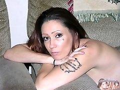 Amateur Tattooed Biker Chick Modeling Nude - Sinn Model