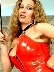 Latex bossy lady