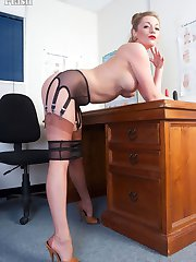 Need it or not Holly is a fully fashioned nylon clad doctor specialising in providing erection assistance!