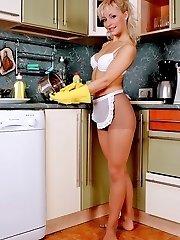 Karolina is the finest pantyhose cook!