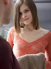 Young Tatjana knew that the masseuse was experienced and she enjoyed what he did before their...