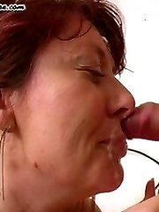 Suck that cock and cum you mature nympho