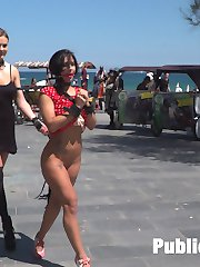 Susy Gala is the perfect public fuck doll ready to serve.Part 1 Busty Fuck Doll is taken to the...