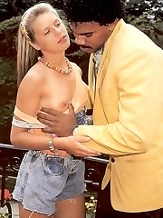 Interracial couple fucking