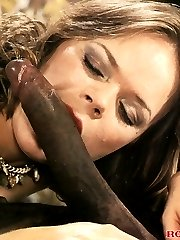 Nailed by a huge black cock