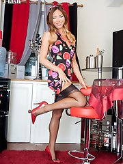 Join Natalia in her private bar for a drink and some naughty fun and games!