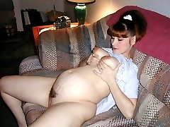 Pregnant Girlfriends, 100 real user submited pics and vids