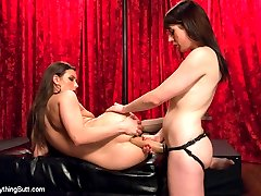 Casey Calvert punishes Samantha Bentley for steeling her cash in this sexy lesbian all anal...