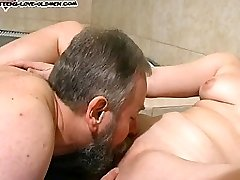 She loves sucking and fucking the older neighbour