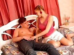 Awesome blonde enjoys dirty sex and hot cum-shot