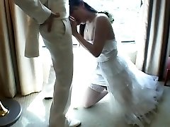 Japanese Tgirl Romps New Hubby After Wedding