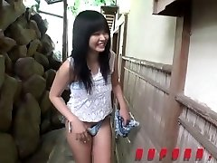 Cute Jav Teen Fingered In The Donk At bed