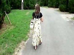 Pregnant Japanese Ultra-cutie Has to Fuck  Hobos