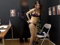 Incredible Japanese chick in Astounding Casting JAV clip