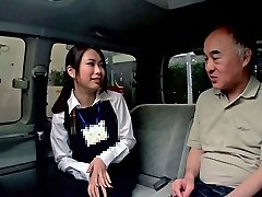 Emiri Toda in Tour Guide Gets Plumbed In A Camper - CosplayInJapan