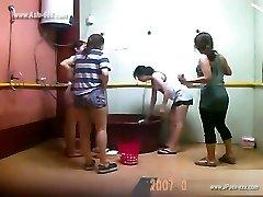 ###ping asian girls bathing