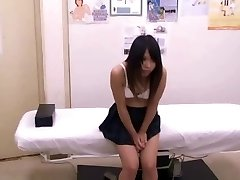 Japanese schoolgirl (18+) medical check-up