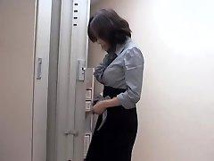Naughty asian tart fucked by massagist in sexy voyeur movie