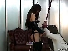 Japanese Female Dom Emiru BDSM Belt Dick Fucking