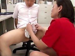 Japanese Nylon Panty Hand Job Jizz
